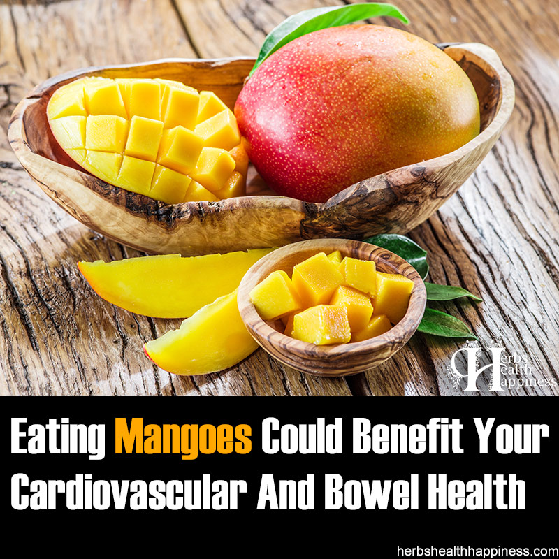 Eating Mangoes Could Benefit Your Cardiovascular And Bowel Health