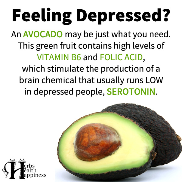 Feeling Depressed? An AVOCADO May Be Just What You Need