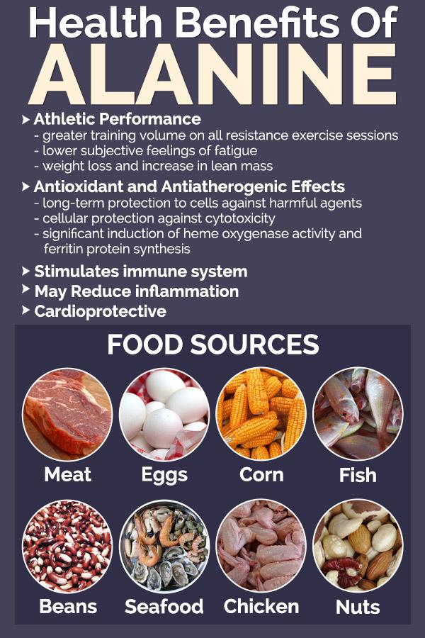Health Benefits Of Alanine - The Performance Enhancing Amino Acid