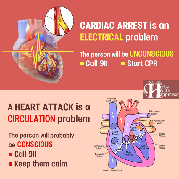 Heart Attack vs. Cardiac Arrest – Do You Know The Difference?
