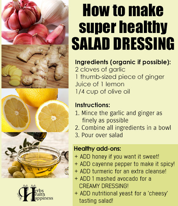 How To Make SUPER Healthy Additive Free Salad Dressing