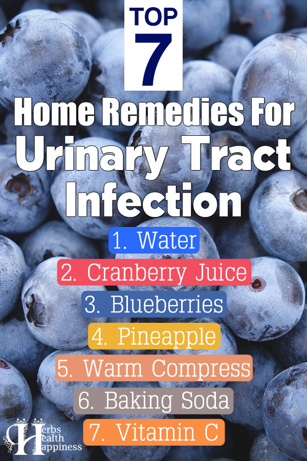 Top 7 Home Remedies for Urinary Tract Infection (UTI)