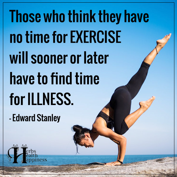 Those Who Think They Have No Time For EXERCISE