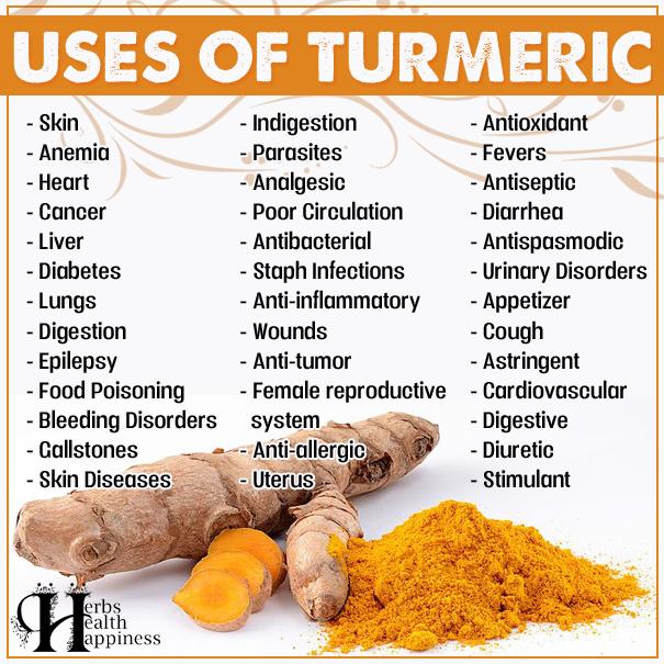Uses And Health Benefits Of Turmeric