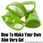 How To Make Your Own Aloe Vera Gel