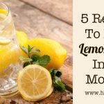5 Reasons To Drink Lemon Water In The Morning