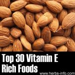 Top 30 Vitamin E Rich Foods