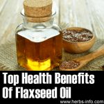 Top Health Benefits Of Flaxseed Oil