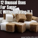 12 Unusual Uses For Sugar Without Eating It