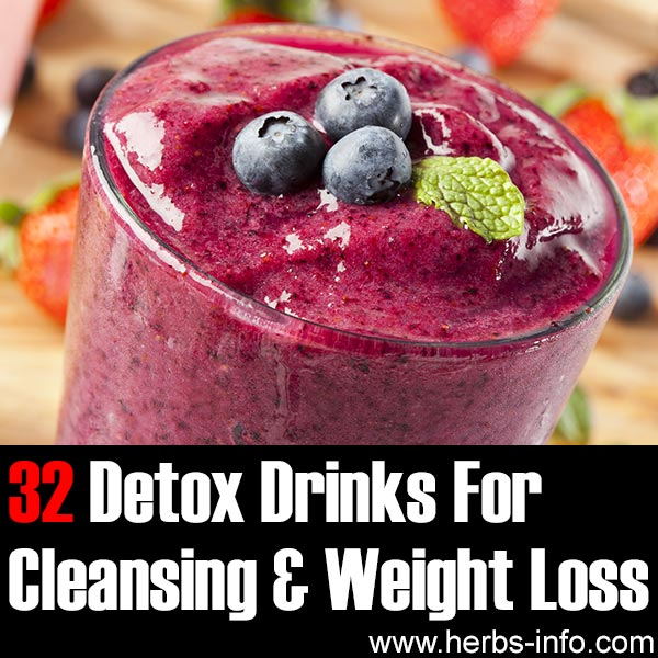 32 Detox Drinks For Cleansing And Weight Loss403