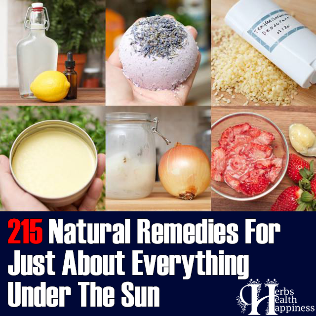 Everyday Roots Book Of 215 Natural Remedies