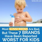 Most Sunscreens Are Bad, But These 7 Brands Have Been Reported Worst For Kids