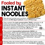 Fooled By Instant Noodles