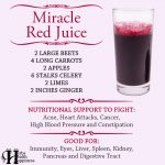 Miracle Red Juice