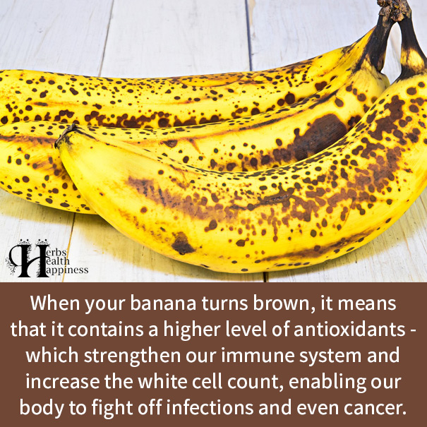 When Your Banana Turns Brown