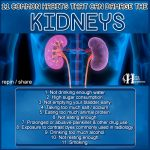 11 Common Habits That Can Damage The Kidneys