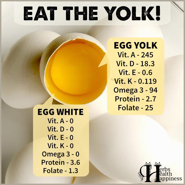 Health Benefits Of Eating The Egg Yolk