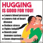 Hugging Is Good for You