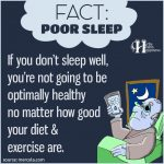 If You Don't Sleep Well, You're Not Going To Be Optimally Healthy