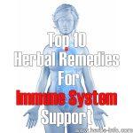 10 Immune Boosting Herbs