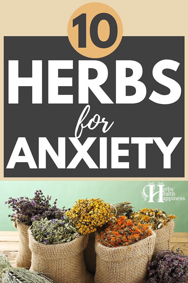 Top 10 Herbs For Anxiety