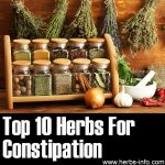 10 Herbs For Constipation