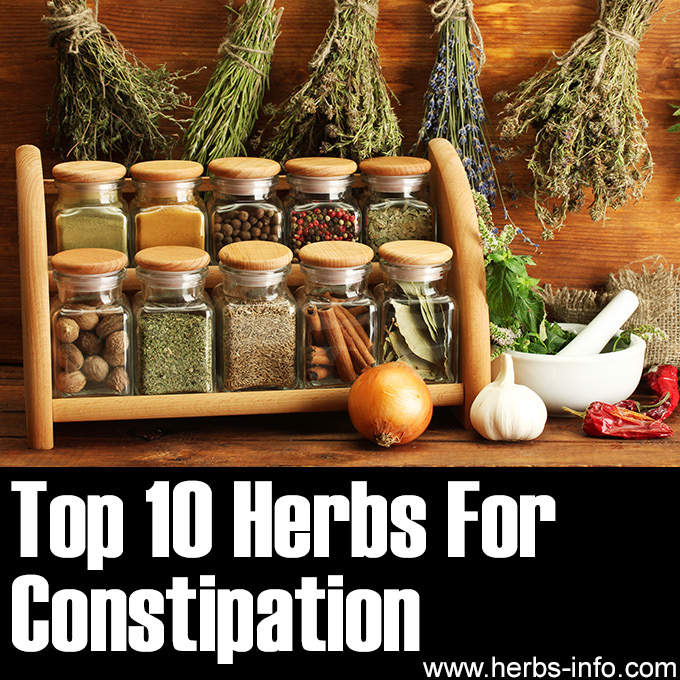 Top 10 Herbs For Constipation