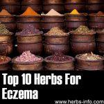 10 Herbs For Eczema
