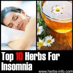 10 Herbs For Insomnia