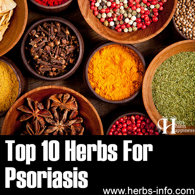 Top 10 Herbs For Psoriasis