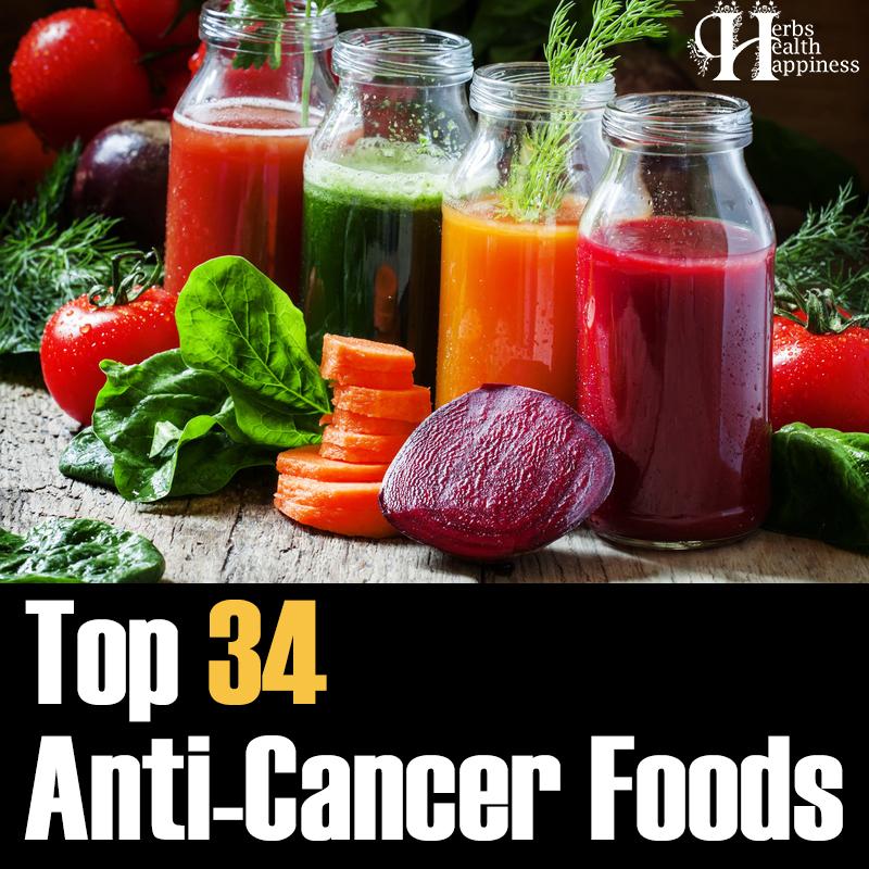 Top 34 Anticancer Foods